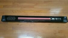 2010 DARTH VADER FORCE FX LIGHTSABER COLLECTIBLE Discontinued by manufacturer