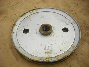 Snapper LE3190R auger drive pulley 7018635