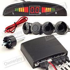 car / van reverse parking sensor kit L.E.D display buzzer