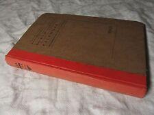 1954-55 Manchester Society of Architects Kalendar Book