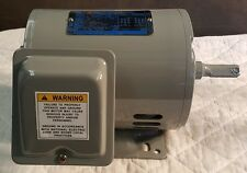 NEW WESTINGHOUSE TECO 1 HP, 1140 RPM INDUCTION MOTOR, 3-PH, 230/460 VOLT