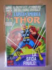 CAPITAN AMERICA & THOR n°11 1996 Marvel Italia  [G690]