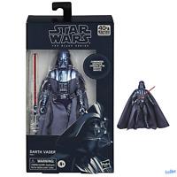 Hasbro Star Wars The Black Series 40th Anniversary Carbonised Darth Vader Figure