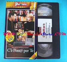 film VHS cartonata C'E'POSTA PER TE 1998 tom hanks meg ryan PANORAMA(F47*)no dvd