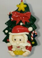 Vintage VERY DETAILED SANTA CLAUS Christmas Tree Christmas ornament