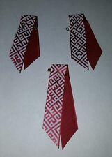 Latvia Latvian Lettland Patriotic Flag Karogs ribbon Pin Badge X3