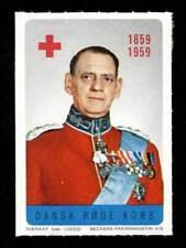 Denmark - Red Cross Fundraising Stamp - 1959 King Frederick IX