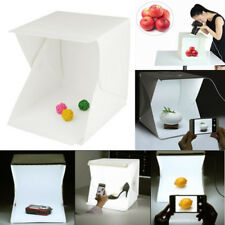 Mini Fotostudio 50cm Fotobox Fotozelt Lichtzelt Lichtwürfel 40x40cm Aufklappbar