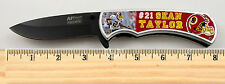 Washington Redskins Sean Taylor Limited Edition Spring Assisted Knife with clip