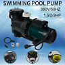 Schwimmbadpumpe Poolpumpe Pumpe für max 1.5/2/3HP Pools Swimmingpool 380V