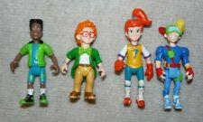 Burger King Kids Club Action Figures Set of 4