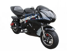 FREE SHIPPING KIDS 49CC 2 STROKE MINI BIKE GAS MOTOR SUPERBIKE BLACK P DB49B
