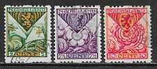 Netherlands stamps 1925 NVPH Roltanding R71-R73  CANC  VF