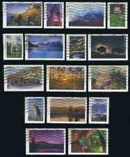 US 5080a-p The Complete 2016 National Parks Centennial Used Off Paper