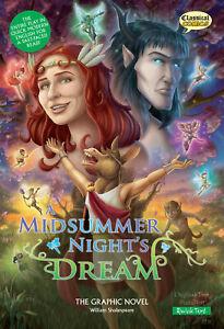 A Midsummer Night's Dream The Graphic Novel (Quick Text)