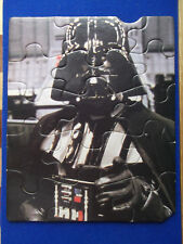 Darth Vader Frame Puzzle Kenner 1983 Star Wars ROTJ 15 pcs Return of the Jedi