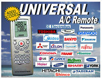 Universal A/C Remote Control With 4000 Thousand Codes. Fast USA Shipper!