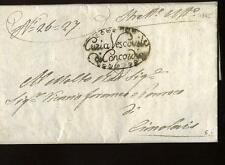 1845 VENETO circolare VESCOVO CONCORDIA-CIMOLAIS:Concorso BENEFIZI PARROCCH-f717