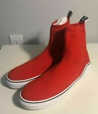 Brand-new Men's Givenchy Red George V High-top Sneakers in US 11/Euro 44