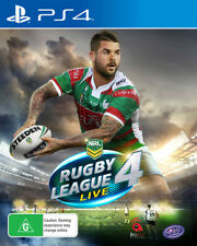 Rugby League Live 4 PS4 Game NEW