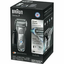 Braun Series 7 Smart Shaver 790cc Electric Foil Shaver Clean Charge Station New