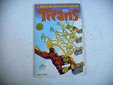 BD marvel TITANS n° 71 - 1984