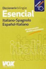 Diccionario esencial español-Italiano VV. ENVÍO URGENTE (ESPAÑA)