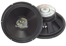 """Single 15"""" inch 8 ohm Premium Home Pro Woofer Replacement or Custom Speaker Box"""