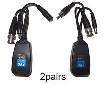 2 Pair PV/PVD/ PVA Passive Power Video & Data(audio) via UTP & RJ45 Twisted Pair