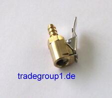 Momentstecker Hebelstecker 6 mm Messing Ventilaufsatz Reifen Druckluft Ventil