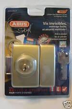 verrou haute sureté ABUS Styl double entrée cylindre/cylindre + 4 clés
