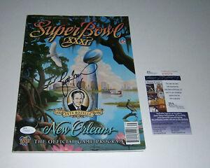 PACKERS Brett Favre signed Super Bowl XXXI program JSA COA AUTO Autographed SB31