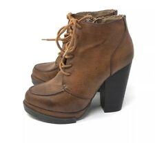 Qupid Lace Up Boots Womens Size 6.5