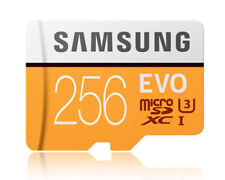 Samsung EVO 256GB 256G micro SD micro SDXC Flash Memory Card 100MB/s 4K Class10
