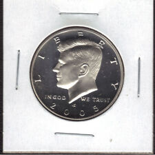 2005-S SILVER PROOF Kennedy 50c Half Dollar US Coin Item #20605