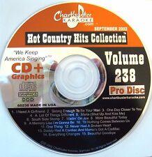 Chartbuster Karaoke - CB60238 CDG  (September 2002)