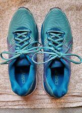 Asics Gel Nimbus 18 Womens Running Shoes Size 9.5 Turquoise