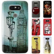 Dessana London Union Jack Silicone Protective Case Pouch Cover For LG