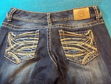 MAURICES Stretch Distressed Denim Jeans Sz 3/4 REG SHIPS FREE! SEE OTHERS LISTED