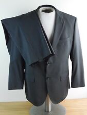Hugo Boss Suit grey black checked Super 120s Wool Alt 40S 34x25
