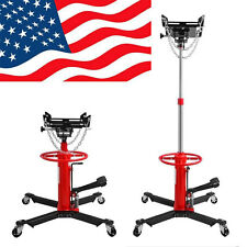 1100lbs Transmission Jack 2 Stage Hydraulic w/ 360° for car lift auto lift