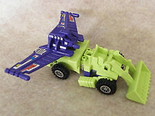 Transformers G1 Scrapper 1985   with Super Wing