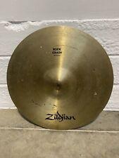 "Zildjian Avedis Rock Crash Cymbal 18"" Cymbal Drum Accessory (CRACKED)"