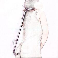 steel slave collar,back hook,Forced straight body metal neck for men or women