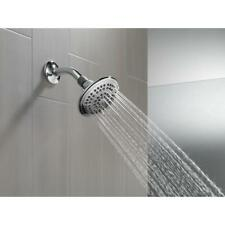 Delta 5-Spray 5 in. Shower Head in Chrome with Pause