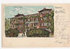 Germany, Gruss aus Bad Tolz Chromo Postcard, B019