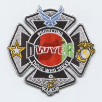 Afghanistan - Camp Dwyer Fire Department Military Patch v2
