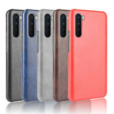 PU Leather Fabric Coated Hard Case Cover For OnePlus Nord