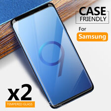 2x Samsung Galaxy S9 S8+ Plus Note 8 Tempered Glass Screen Protector Film Guard