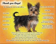 I Love My Yorkie Dog Wall Art Print Personalized w/Name-Unique Dog Lover's Gift